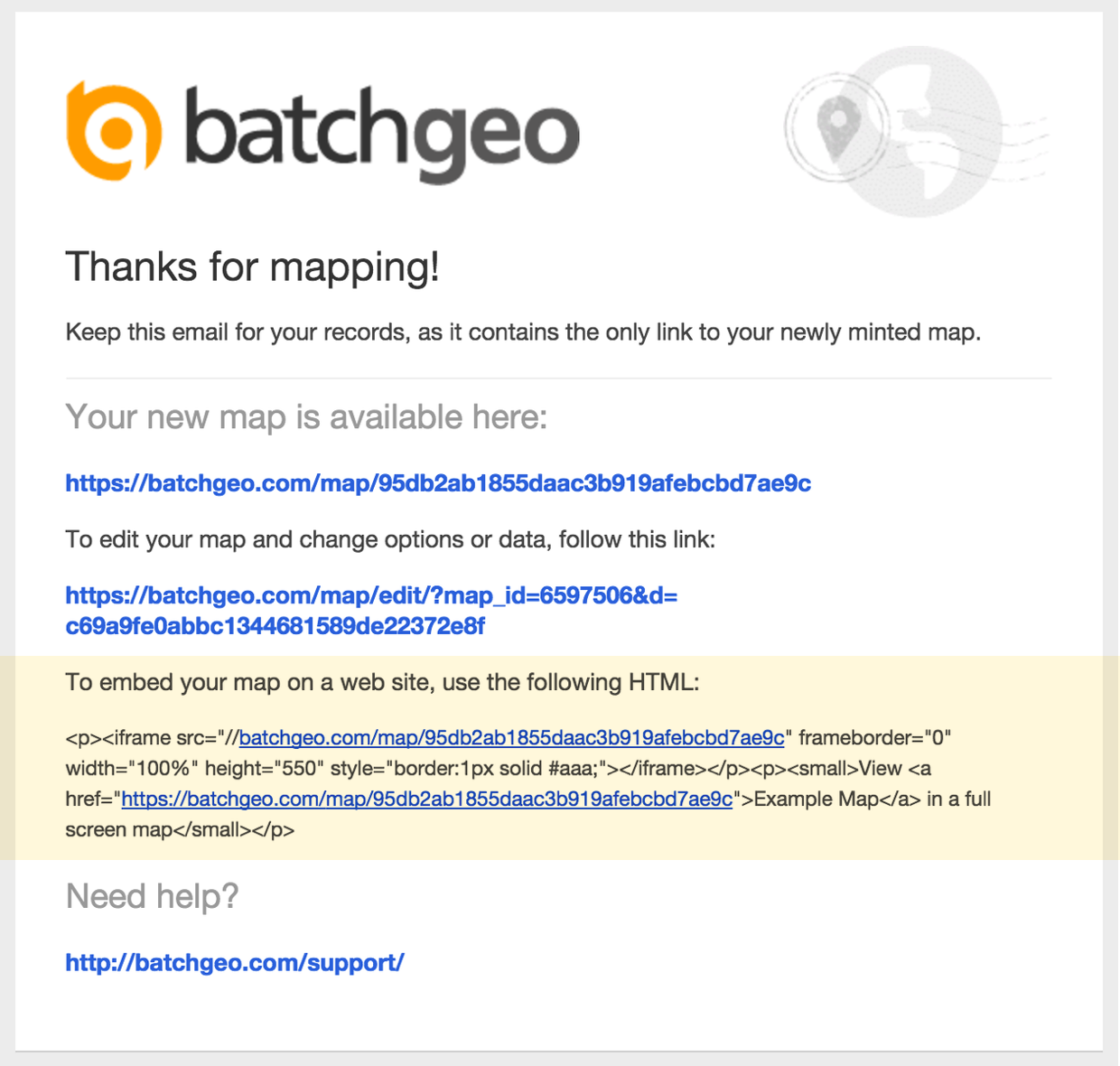 embed code email